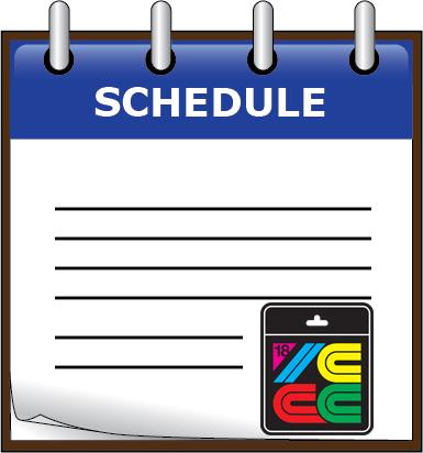 Schedule -