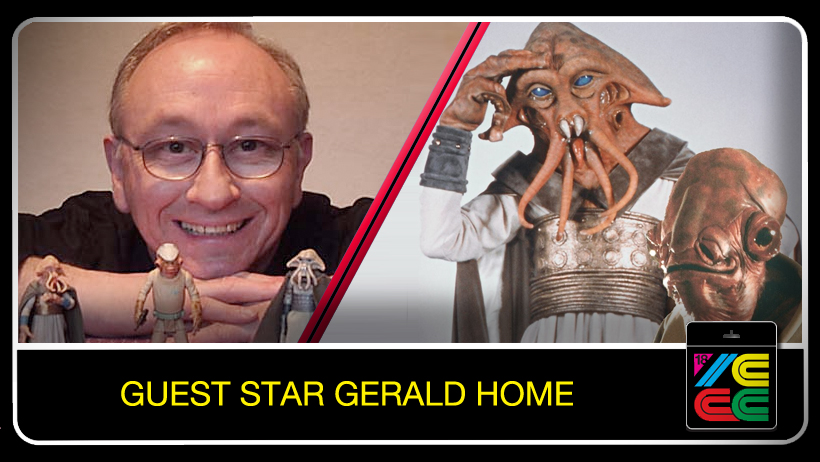 "Gerald Home  has had a wide and varied career in film and theater: On the big screen he played Tessek - Squid Head and a Mon Calamari Officer in ""Star Wars Episode VI: Return of the Jedi,"" and was a puppeteer on ""Little Shop of Horrors."" His recent films include ""Chatroom,"" ""London Boulevard,"" and ""Where I Belong."""