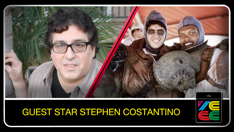 "Stephen Costantino  is a musician, songwrtiter and actor. He was cast as a Gammorean Guard and as a stand in for Billy Dee Williams (Lando Calrissian) in ""Star Wars Episode VI: Return of the Jedi."" He also has performed as a session guitarist for musical artists Crazy Town, New Edition, Bel Biv Devoe, and the Black Eyed Peas."