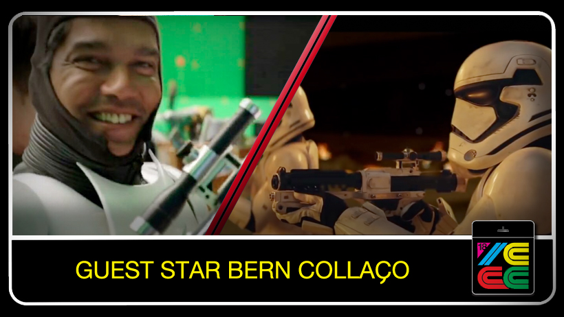 "Bern Collaco  has been performing in film and TV for more than 35 years. Most recently he was cast as a Stormtrooper and various other roles in ""Star Wars: The Force Awakens,"" ""Star Wars: The Last Jedi,"" and 'Rogue One."" He also appeared in 'Wonder Woman,"" ""Skyfall,"" ""Spectre,"" amd ""Dr Strange."""