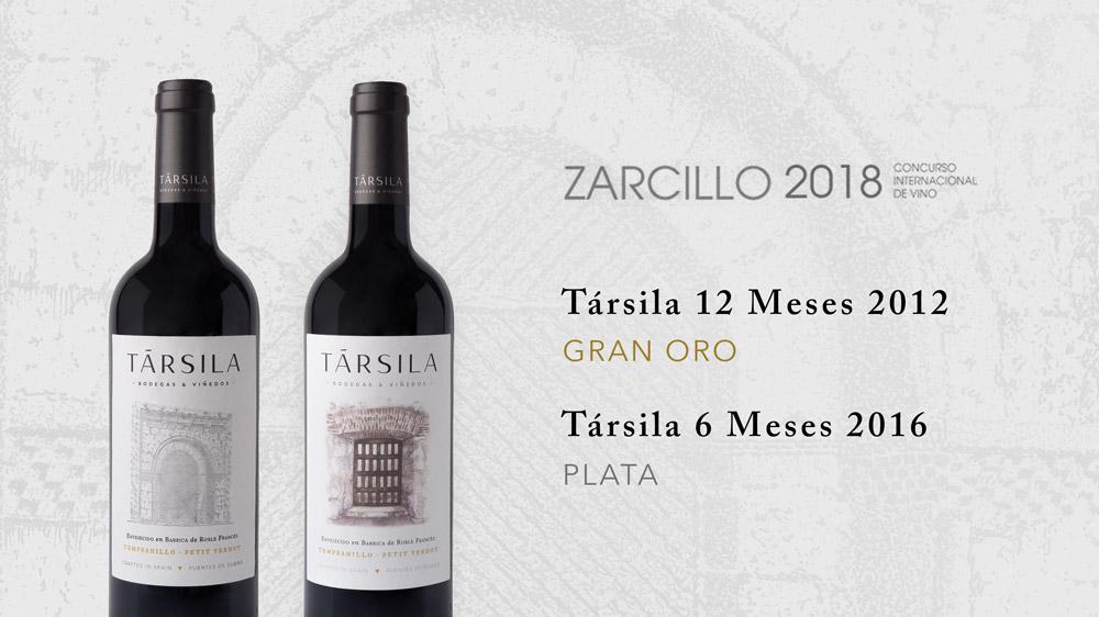 Premios Zarcillo 2018: Gran Oro Zarcillo para Társila 12 Meses y Plata Zarcillo para Társila 6 Meses