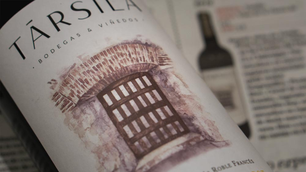 Társila 6 Months highlighted in the wine supplement of the Spanish newspaper El Mundo