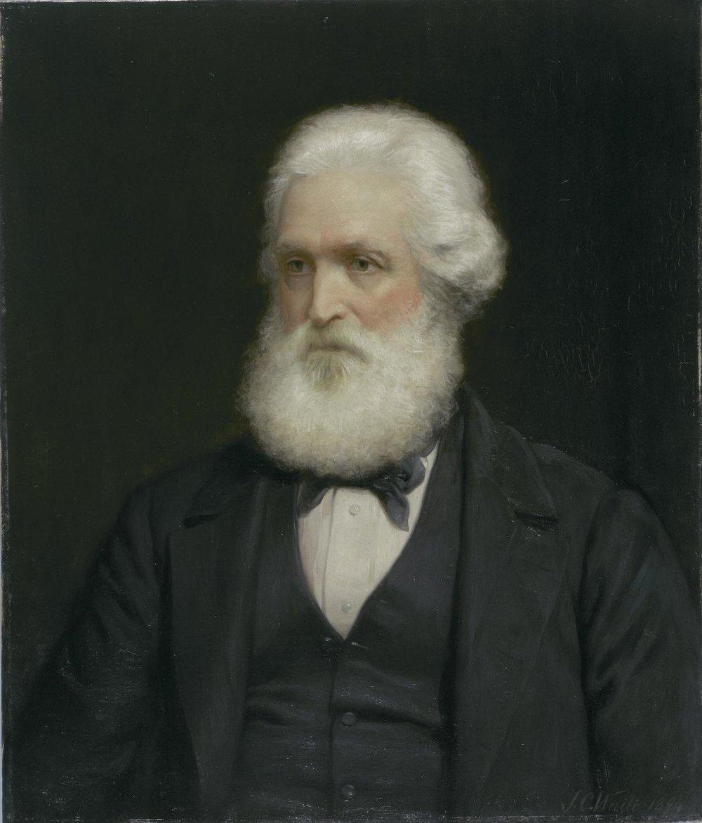 Abram Louis Buvelot, 1894 / Óleo por J.C. Waite Acervo National Gallery of Victoria, Melbourne