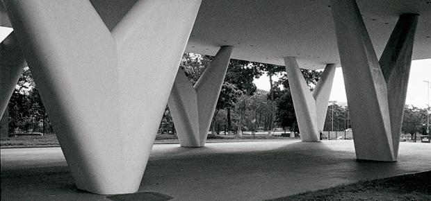 Museu de Arte Contemporânea da USP, 2016 / Imagem por Mauro Restiffe Site Casa Claudia casa.com.br