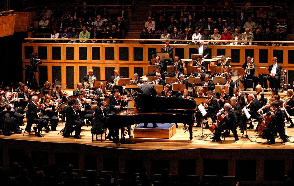 Apresentação da Orchestre de la Suisse Romande na Sala São Paulo em concerto promovido pela Sociedade Cultura Artística, 2009 Acervo Sociedade Cultura Artística