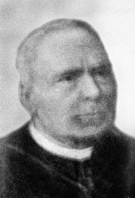 Padre Jacob Joye, primeiro pároco de Nova Friburgo Acervo da Paróquia de São José do Ribeirão, Bom Jardim, Rio de Janeiro