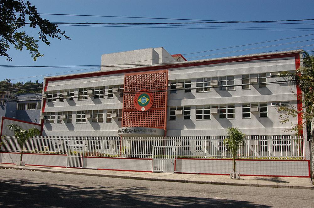 Fachada da Escola Suíço-Brasileira do Rio de Janeiro Acervo Escola Suíço-Brasileira do Rio de Janeiro