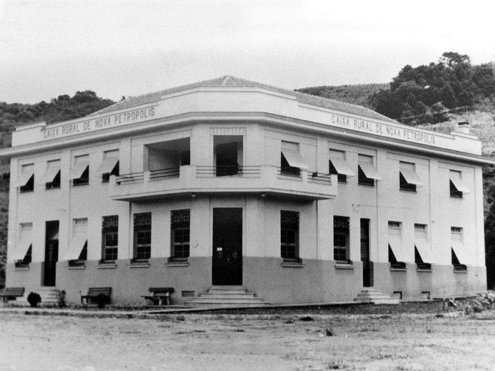 Primeira cooperativa de crédito do Brasil (Sincredi), fundada em 1902, em Nova Petrópolis - RS Imagem Divulgação/OCB