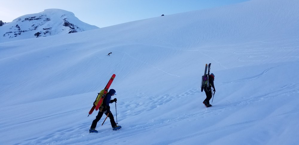 Lighter packs made a day trip on Mt Baker fun and safe!
