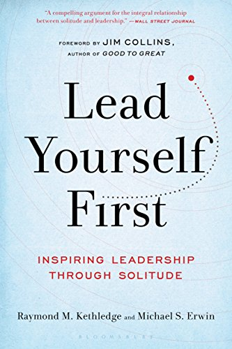 Lead Yourself First  Raymond Kethledge & Michael Erwin  Blown away by this book! Ignore the prosaic title and read this now. Well researched historical and psychological examples of why you need to incorporate solitude into your life and leadership now!