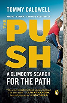 The Push  Tommy Caldwell  How many people do you know who spend months doing nothing other than eating, sleeping, and pursuing a feat no one believes possible? One of my favorite books this year and worth the read for climbers and leaders alike. This book is well written, easy to read, and full of profound insights from climbers to leadership guru Jim Collins himself!