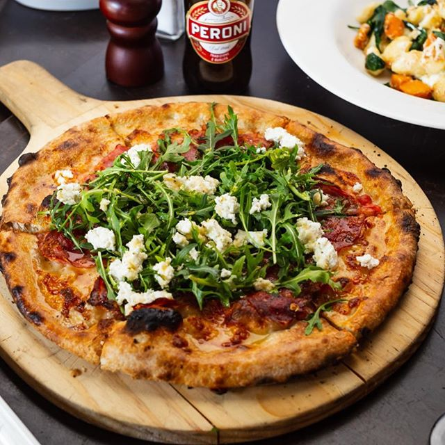 VITALY SPECIAL PIZZA. This has amazing combination, DO NOT TRY THIS ALONE , MUST HAVE YOUR FAMILY & FRIENDS ALONG WITH. #wherepizzagetsrespect