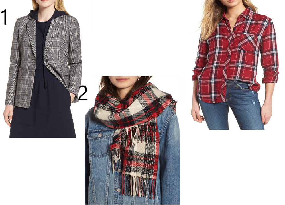 09ce98d85f5 Another great fall update is adding a plaid item to your wardrobe. A plaid  blazer would be amazing with jeans and a T-shirt. If you are not that  brave