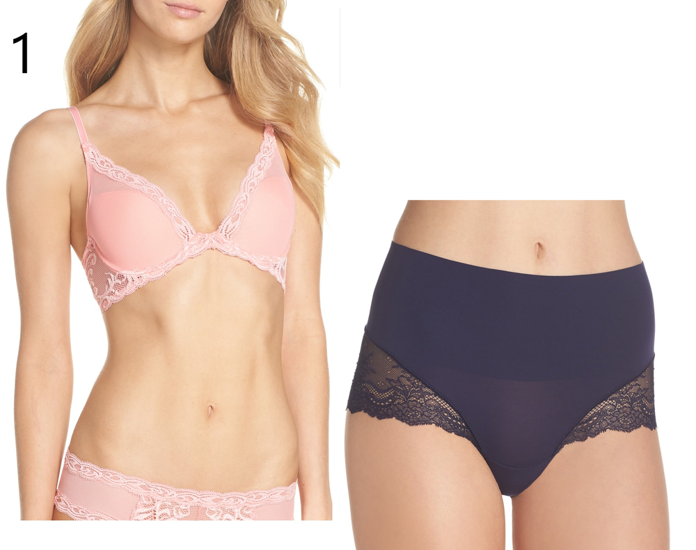 f2d39146cb9496 It is super comfortable and looks great with a V-neck. The Spanx underwear  gives you a little extra help in the tummy area. I love both of these  products.