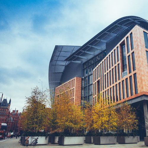 Located alongside the crick institute -
