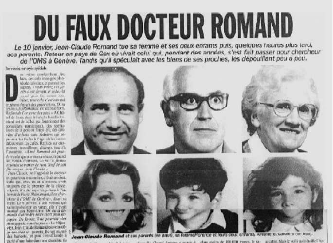 L'affaire Jean-Claude Romand