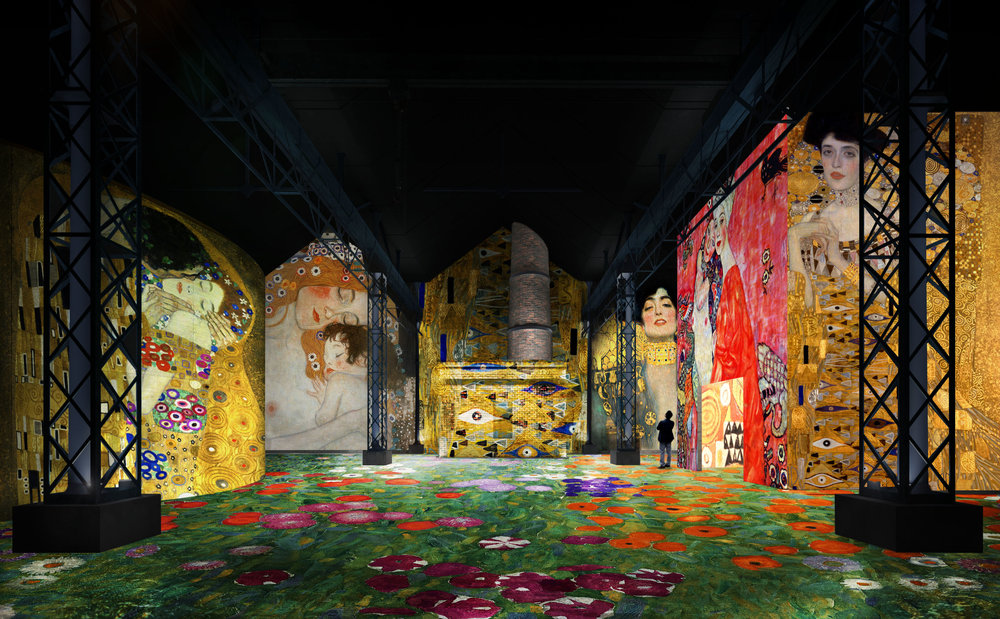 Gustave Klimt à l'Atelier des lumières - Culturclub