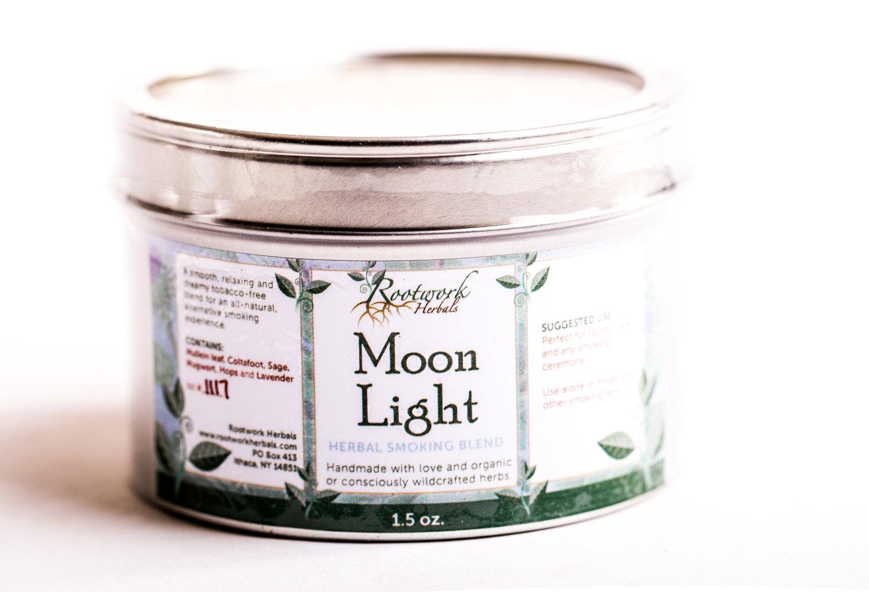 Moon Light- herbal smoking blend — Rootwork Herbals