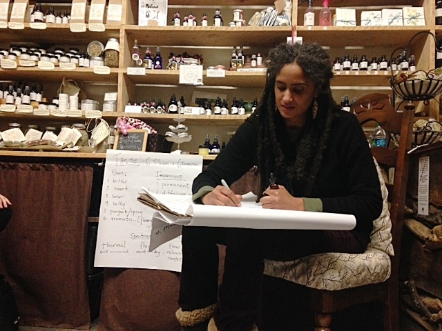 HERBS TALK - A monthly experiential class focusing on using all of our senses to re-awaken our direct communication with medicinal plants.Each month our conversation with be with one herb utilizing energetics and perception. Our discussion will also include properties, preparations, uses, samples and fun!HERBS TALK takes place the fourth Friday of every month from January - April, 7:00pm - 8:30pm at Bramble Apothecary in Ithaca, New York.Classes cost $25 (sliding scale) and include a tincture. Space is extremely limited so we recommend buying tickets in advance.