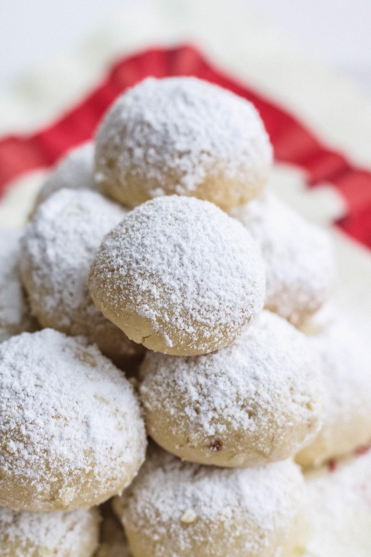 4 Ingredient Snowball Cookies Vegan Lisa Kitahara