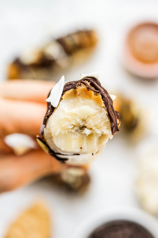 vegan banana pops