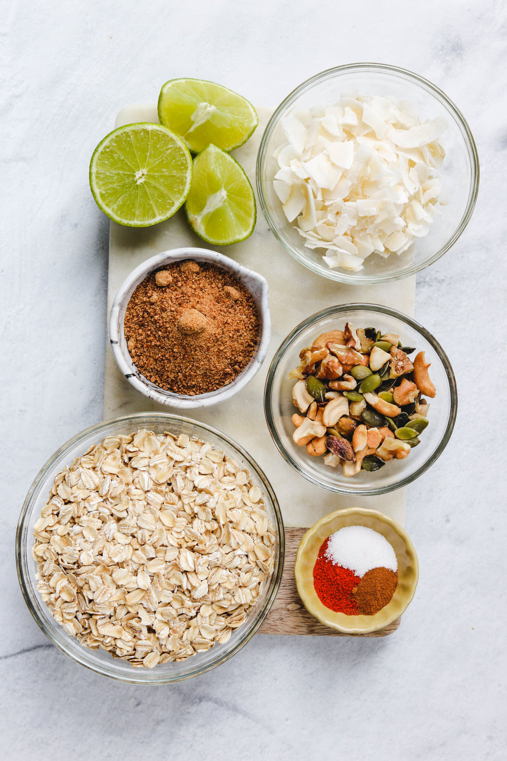 Sweet & Savoury Chili Lime Granola