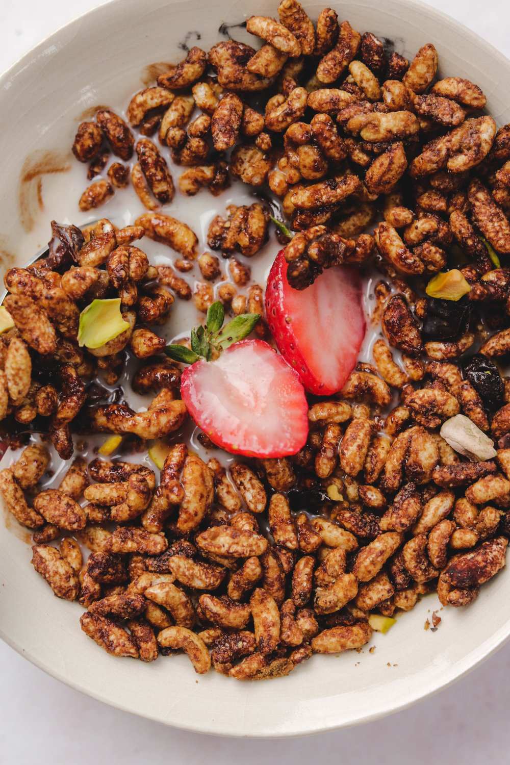 DIY Vegan Chocolate Hazelnut Cereal Closecup (1 of 1).jpg
