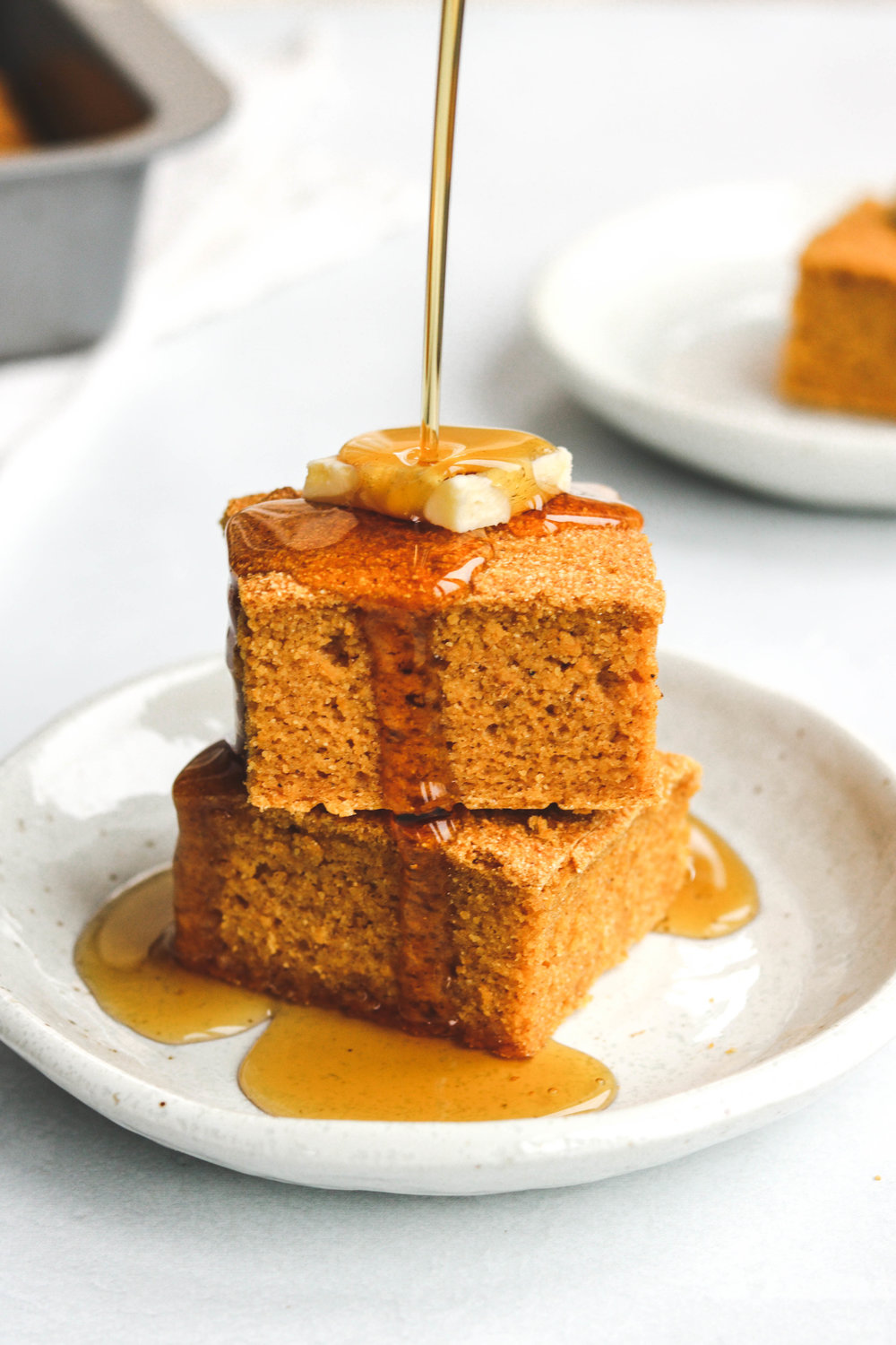 Vegan Maple Pumpkin Cornbread Pour Shot (3 of 3).jpg