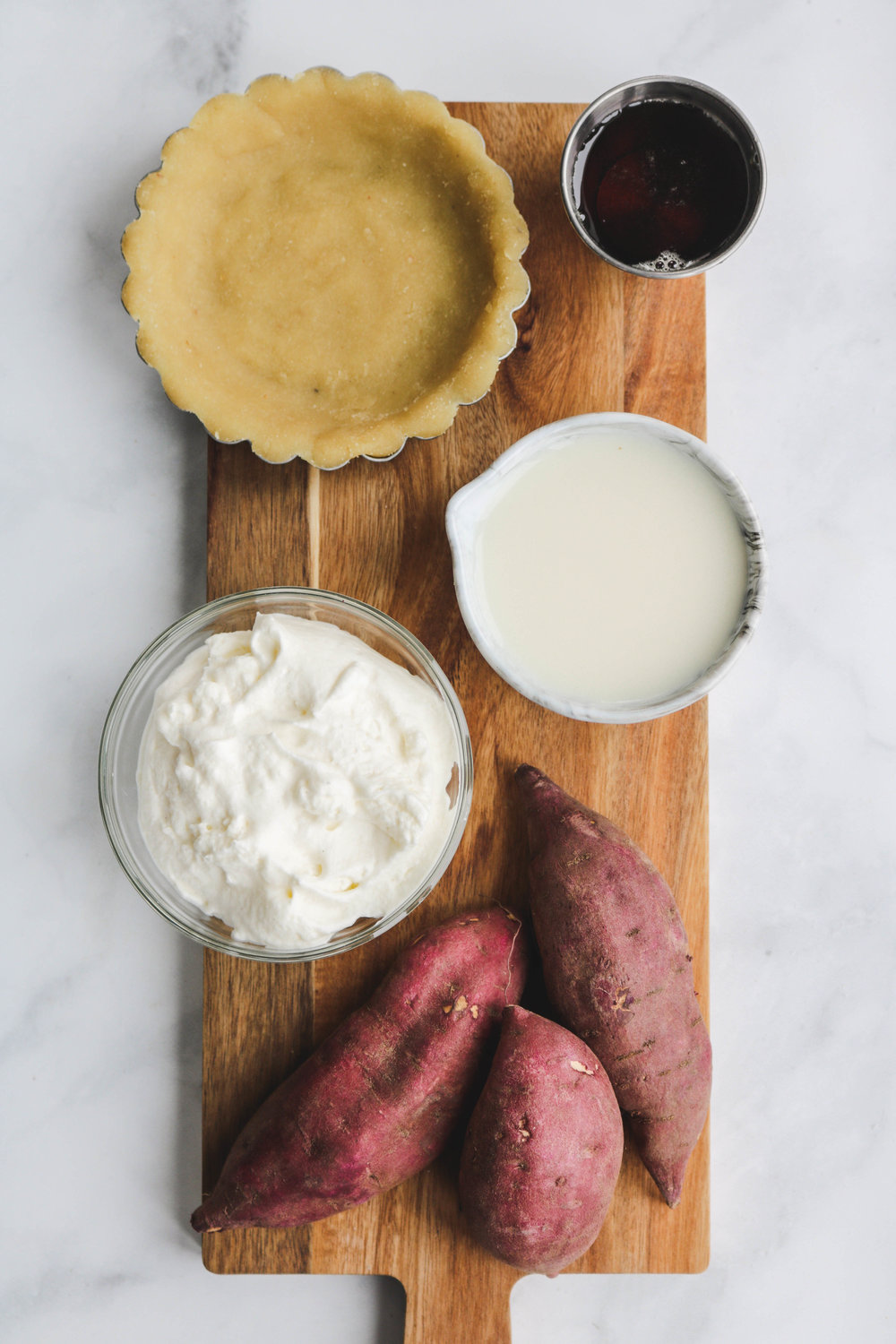 Vegan Japanese Sweet Potato Tart Ingredients (1 of 1).jpg