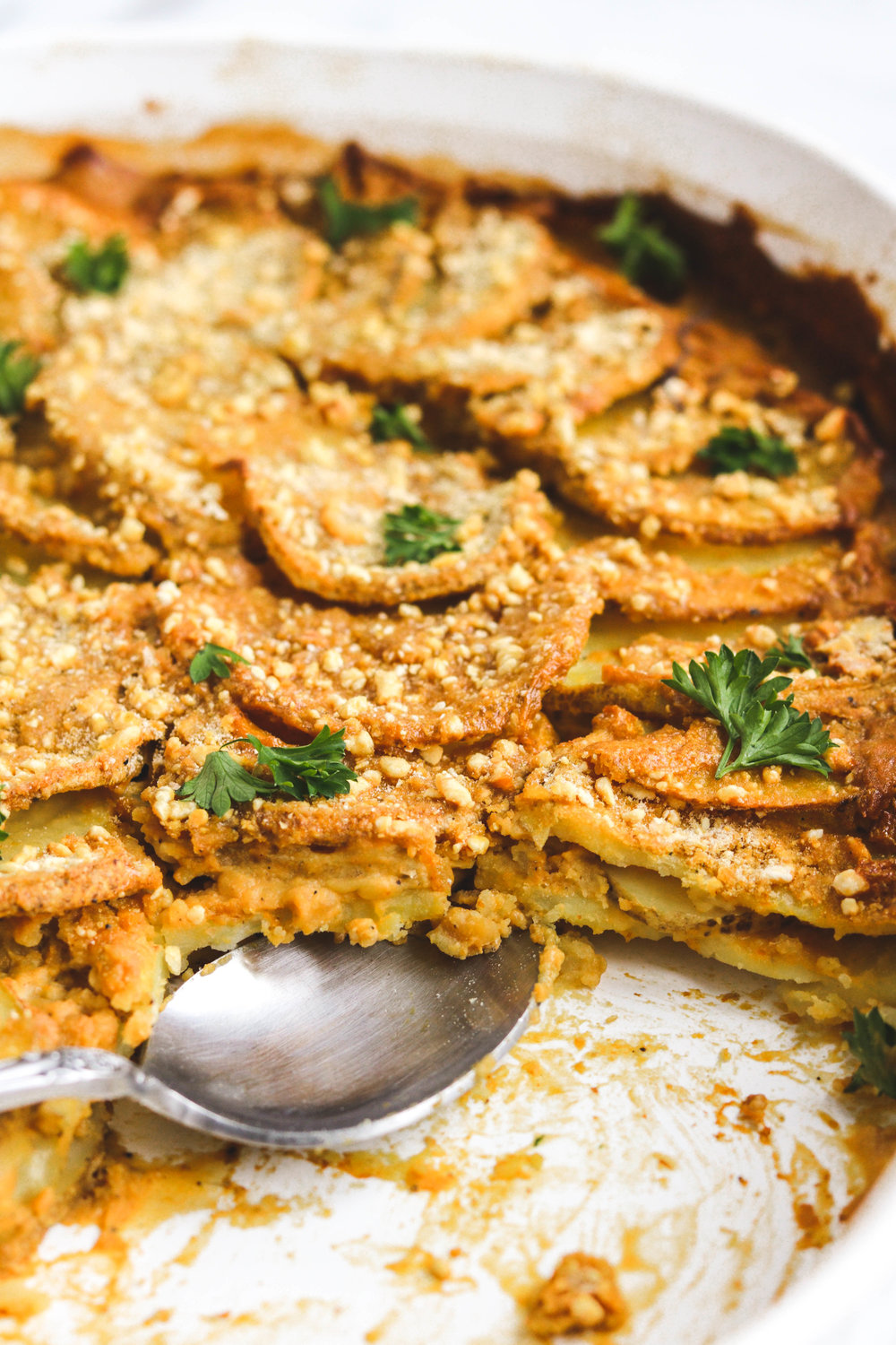 Creamy Pumpkin Scalloped Potatoes Close Up (1 of 1).jpg
