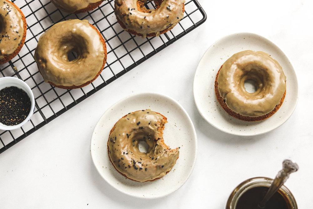 Black Sesame Caramel Donuts -15.jpg