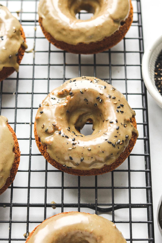 Black Sesame Caramel Donuts -5.jpg