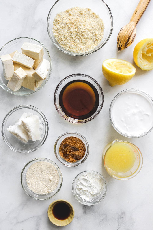 Healthy Vegan Lemon Bars