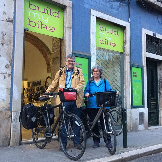 Herta and Bernhard started their trip to Algarve this Monday. Check our blog for the story. Link in bio. #buildmybike #bicycle #bicycletouring #cycling #cyclingadventures #cyclinglife