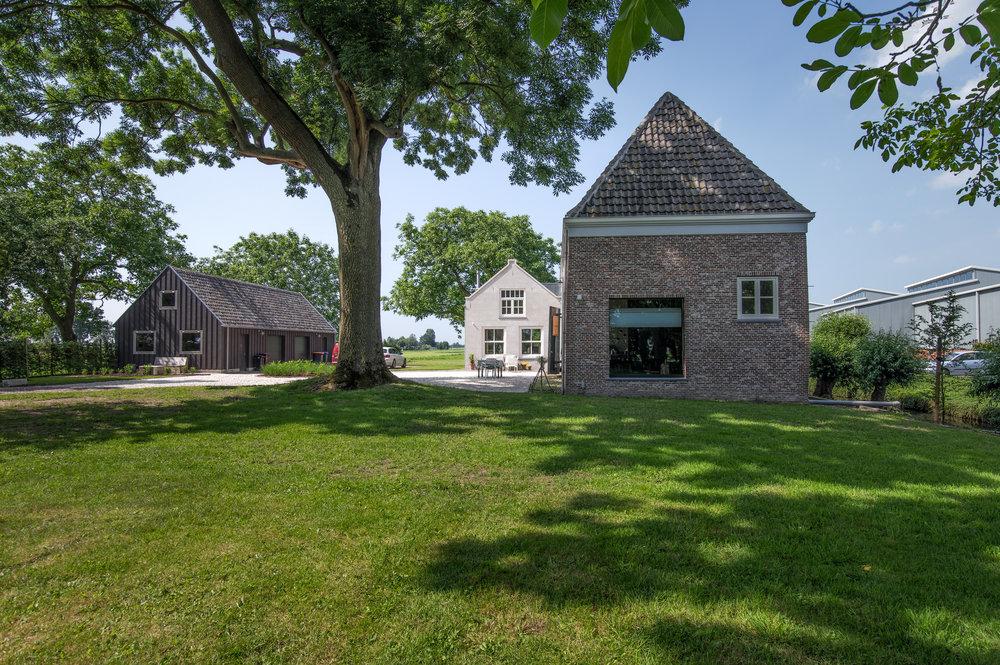 Plattegrond Slaapkamer Renovatie : Renovatie en restauratie van rijksmonument koetshuis in benschop