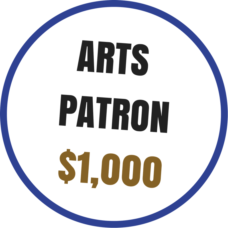 Arts Patron benefits include:  -Recognition on the Arts Council website and newsletter -Voting rights at the Annual Meeting -20% discount on Artsplosion! Camps for kids -2 VIP passes to KIDD's Corner at Ebb & Flow Festival -10% discounted rental at Arts Council venues -Advance ticket purchase opportunity for River City Jazz Master Series -VIP access to River City Jazz Masters concerts -Invitations to Art Routes trips