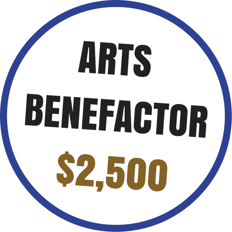 Arts Benefactor benefits include:  -Recognition on the Arts Council website and newsletter -Voting rights at the Annual Meeting -20% discount on Artsplosion! Camps for kids -2 VIP passes to KIDD's Corner at Ebb & Flow Festival -10% discounted rental at Arts Council venues -Advance ticket purchase opportunity for River City Jazz Master Series -VIP access to River City Jazz Masters concerts -Invitations to Art Routes trips -VIP access at Ebb & Flow Festival -Priority invitation to Art Routes trips