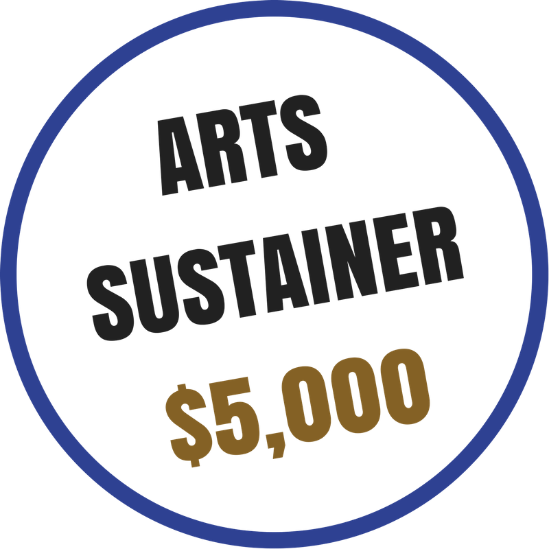 Arts Sustainer benefits include:  -Recognition on the Arts Council website and newsletter -Voting rights at the Annual Meeting -20% discount on Artsplosion! Camps for kids -2 VIP passes to KIDD's Corner at Ebb & Flow Festival -10% discounted rental at Arts Council venues -Advance ticket purchase opportunity for River City Jazz Master Series -VIP access to River City Jazz Masters concerts -Invitations to Art Routes trips -VIP access at Ebb & Flow Festival -Priority invitation to Art Routes trips -Customized VIP benefits