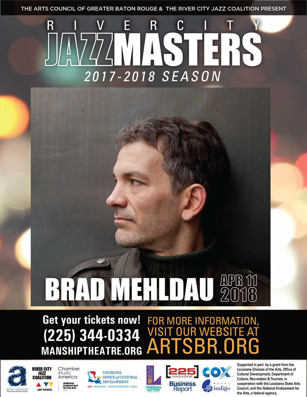 River City Jazz Masters Presents Brad Mehldau