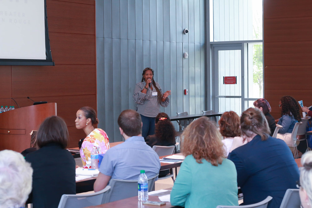 One of the many interactive sessions included Courtney Scott's session, Be Social Where You Are.