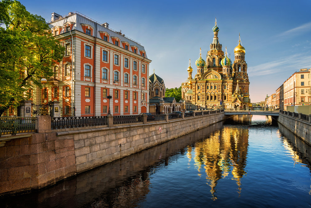 The Church of Our Savior on Spilled Blood is a St. Petersburg landmark and one of the stops the group made on the June Art Routes tour.
