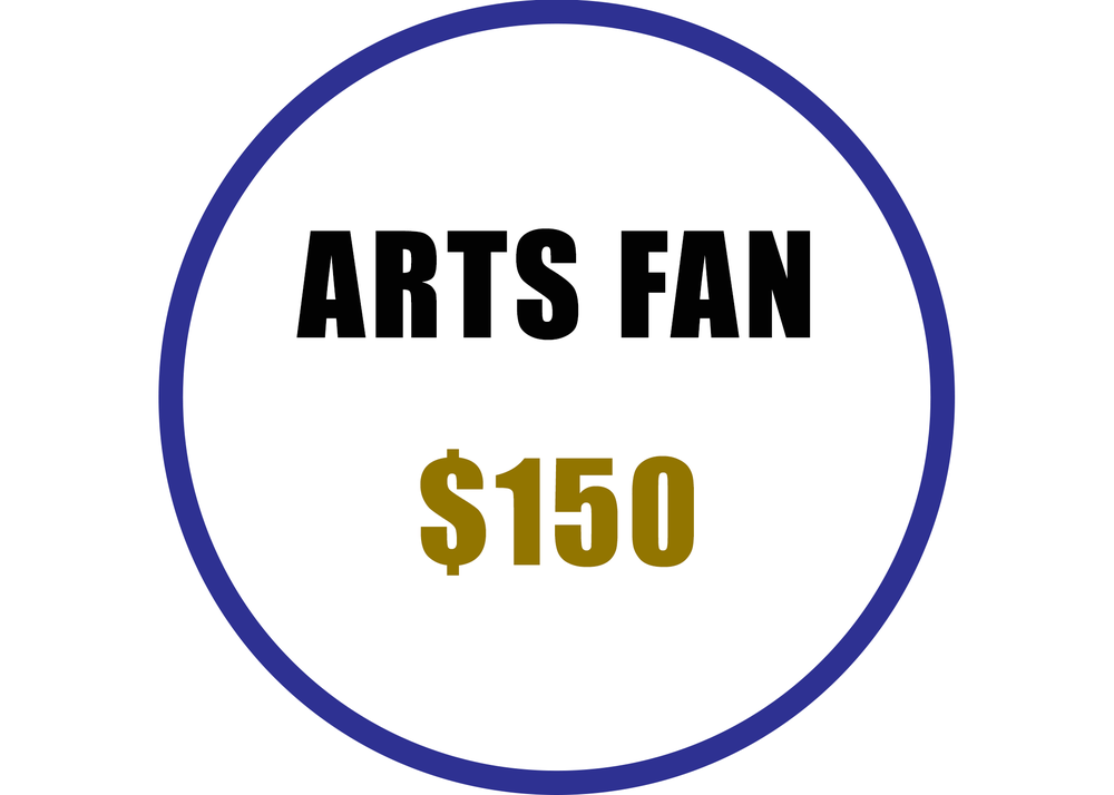Arts Fan benefits include:  -Recognition on the Arts Council website  -Voting rights at the Annual Meeting