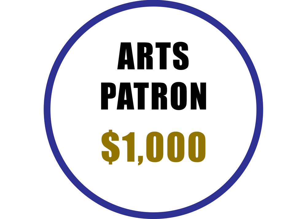 Arts Patron benefits include:  -Recognition on the Arts Council website  -Voting rights at the Annual Meeting -20% discount on Artsplosion! Camps for kids -2 VIP passes at Ebb & Flow Festival -40% discounted rental at Arts Council venues -Advance ticket purchase opportunity for River City Jazz Master Series -VIP access to River City Jazz Masters concerts -Invitations to Art Routes trips