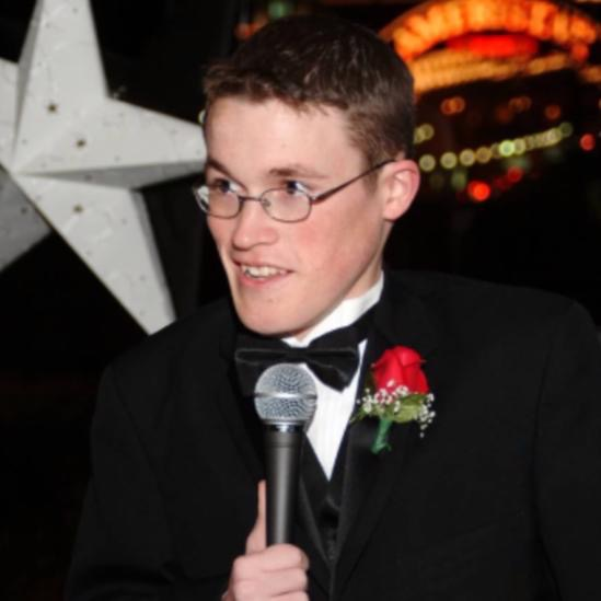 Jordan Hays pictured above giving his best man speech at his brothers wedding. Jordan is the reason we at the Jordan Hays Foundation still continue our fight to find a cure! He's strength lives on, in the hearts of so many.