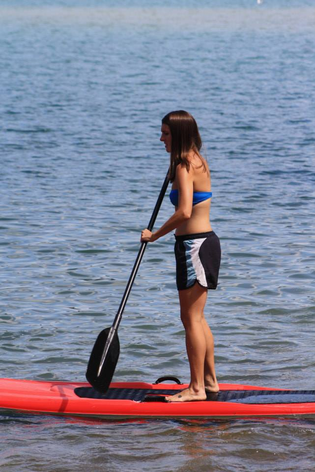 Me at my healthy weight. Loving life on Big Sand lake in MN