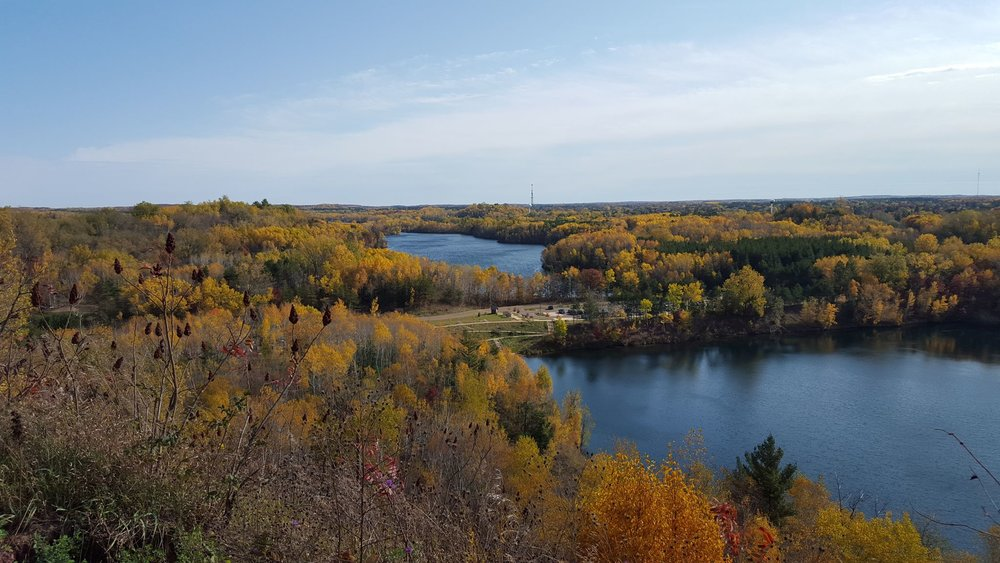 Cuyuna Lakes Recreation Area. Look at those amazing colors!