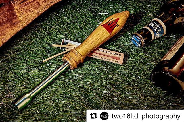 #Repost @two16ltd_photography with @get_repost ・・・ This is - the 1571F Beer Caramelizer. Coming to you out of the great north woods of Menomonie, Wisconsin. The 1571F Beer Caramelizer turns any campfire into a caramelized beer tasting extravaganza. With the introduction of flash heat to your favorite beverage, the gumdrop caramelizing tip reacts with the sugars in your brew for a richer smoother taste. Ya dig! - - - @1571_f #beer #craftbeer #craftbeers #tapbeer #beerontap #beertap #caramelized #wisconsin #profoto #pocketwizard #captureone
