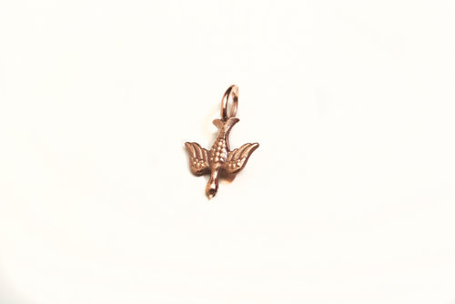 Collections ex voto vintage ea collection dove pendant in 14k gold or 14k rose gold aloadofball Image collections