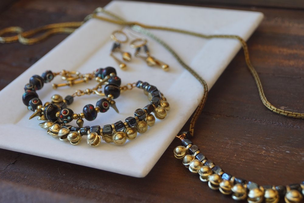 ExVoto Jewelry created from vintage elements