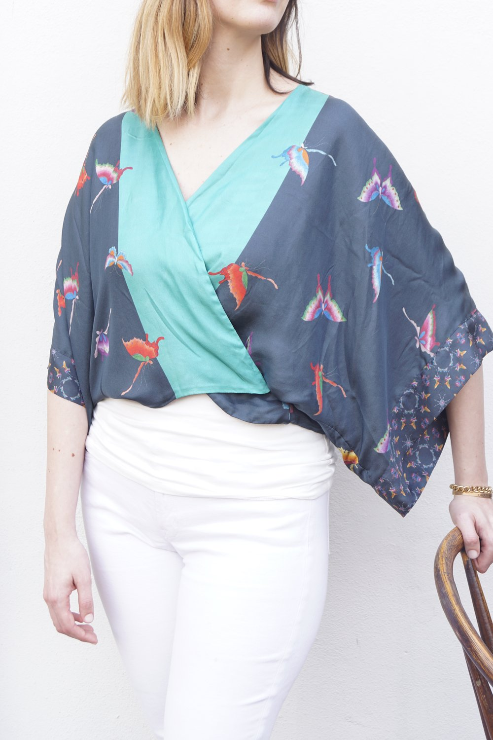 Silk Shrug for Spring